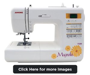 janome magnolia 7330 reviews