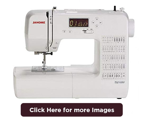 janome dc1050 computerized sewing machine with 50 stitches