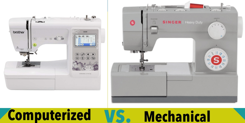 Computerized Sewing Machines vs Mechanical