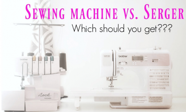 Difference between Sewing Machine and Overlocker