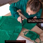 How To Make A Mask With Fabric Without Sewing